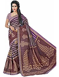 Jaanvi Fashion Bhagalpuri Silk Abstract Printed Saree