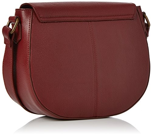 Fly London - Zeek602fly, Borse a tracolla Donna Rosso (Cordoba Red)