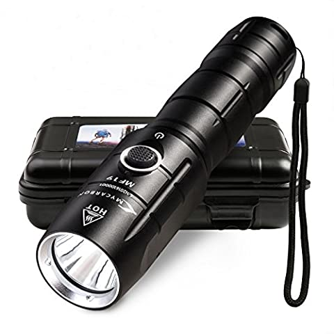 2in1 Taktische Taschenlampe + LED Fahrradlicht |