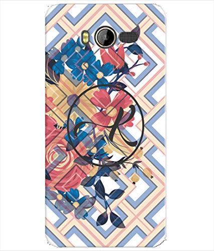 Inktree® Printed Designer Silicon Back Cover for Karbonn Yuva 2 - Alphabet K