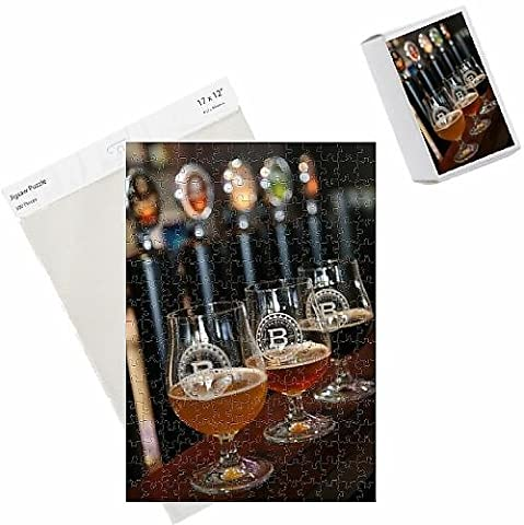 Photo Jigsaw Puzzle of Beer glasses at the Broggeriet brewery in Sonderborg, Jutland, Denmark