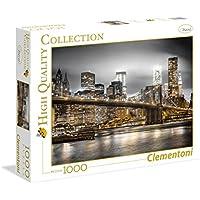 Clementoni - Puzzle de 1000 Piezas New York Skyline (39366) - Peluches y Puzzles precios baratos
