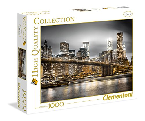 Clementoni 39366.4 - Puzzle 'High Quality Kollektion - Skyline von New York', 1000 Teile