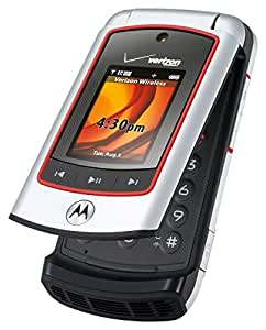 Verizon 1 X Oem Motorola V750 Silver Mock Dummy Display Toy Cell Phone Good For Store Display