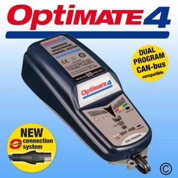 Optimate 4–Ladegerät und Conditioner für Auto
