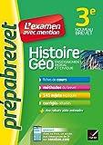 Histoire-géographie EMC 3e - Prépabrevet L'examen avec mention: fiches, méthodes et sujets de brevet