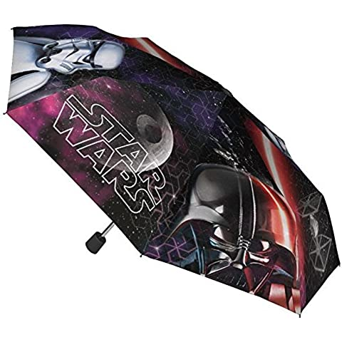 Paraguas Star Wars plegable 48cm surtido
