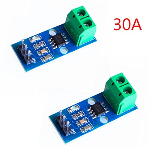 iHaospace 2 X 30A Range Electrical Parts Current Sensor Module ACS712 for  Arduino Raspberry Pi