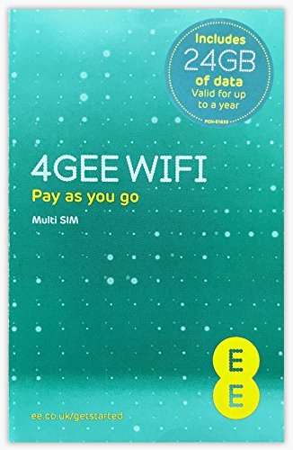 EE PAYG SIM Card Preloaded with 24 GB of 4GEE Data