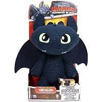 Spin Master 6027679 - DreamWorks Dragons - Deluxe Ohnezahn Funktionsplüsch 30cm - Frustfreie Verpackung