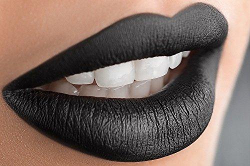 Gabrini � Matte Black Velvet Long Lasting Matte Liquid Lipstick Lip Gloss
