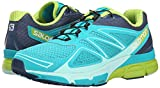 Salomon Damen X-Scream 3D Traillaufschuhe, Türkis (Teal Blue F/Slateblue/Granny Green), 36 2/3 EU -