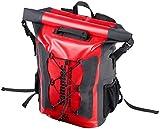 Semptec Urban Survival Technology Wasserfester Rucksack: Wasserdichter Trekking-Rucksack aus LKW-Plane, 20 Liter, IPX6 (Regen-Rucksack)