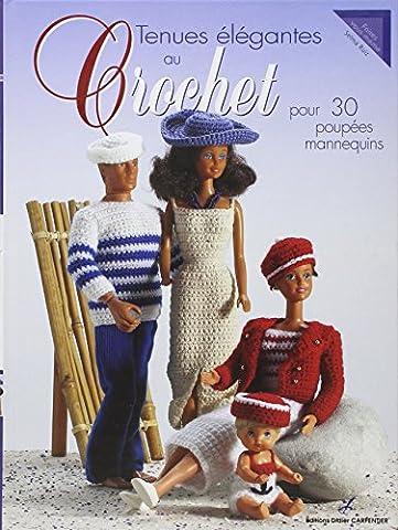 Poupées mannequins au crochet : 30 tenues élégantes