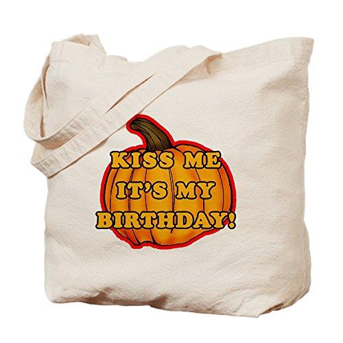 CafePress Halloween-Geburtstagstasche, canvas, khaki, S (Kaufen Halloween-masken Vintage)