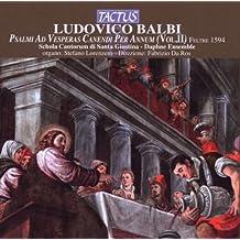 Psalmi Ad Vesperas Canendi Per Annum Vol.2