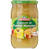 ANDROS Compote Pomme Morceaux 750 g