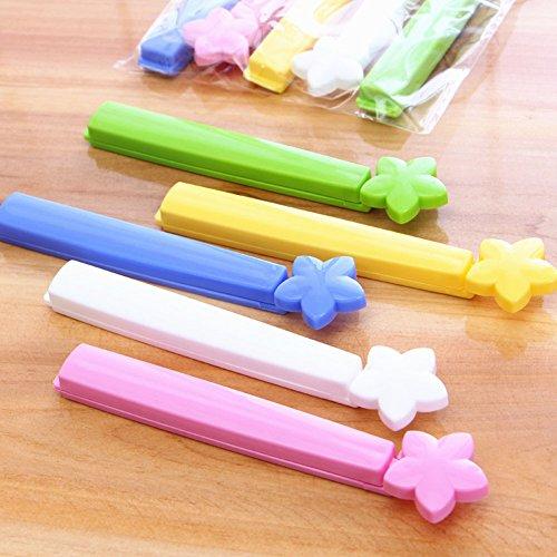 Preisvergleich Produktbild B & Y Home Küche Colorful Speisen, Kunststoff Beutel Seal Versiegelung Clip Clamp Maschinen, 5Stück