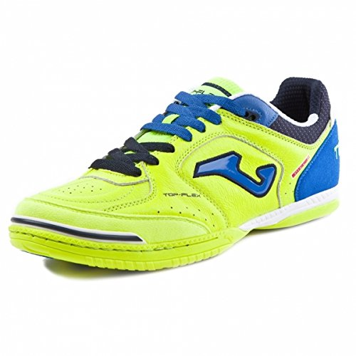 JOMA - SCARPE DA CALCETTO JOMA TOP FLEX 709 GIALLO INDOOR - GIALLO, 10.5 US