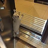 Qianle 120*24cm Hunde Absperrgitter Welpenauslauf für Hunde Kaninchen und Andere Kleine Haustiere