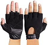 #2: XTRIM - ACTIVE X - LEATHER WORKOUT GLOVES BLACK