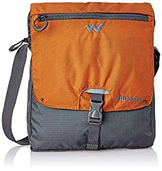 Wildcraft Nylon 15 ltrs Orange Messenger Bag (8903338055983)