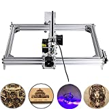 Doris Direct 5500mw Carving Machine DIY Kit, 3040 Desktop USB Laser Engraver Carver, Engraving Area 300mm * 400mm Accuracy Adjustable Laser Power Printer Carving & Cutting with Protective Glasses