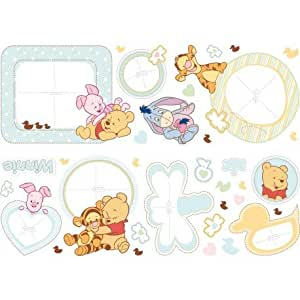Winnie l'ourson - 34 stickers Disney Baby