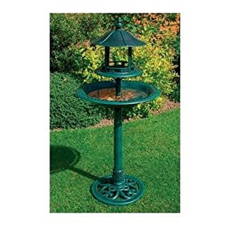 Ov Garden Decorative Bird Feeder with Tray 8