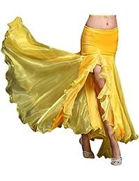 YiJee Mujer Belly Dance Costume Oriental Danza del Vientre Falda