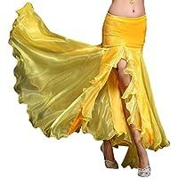YiJee Femme Danse Costume Danse du Ventre Jupes Belly Dance Vêtements de  Danse e3d02ea475d
