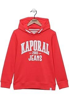 Coupe Droite Kaporal Sweat zipp/é /à Capuche Tricolore en 100/% Coton Gar/çon Elia