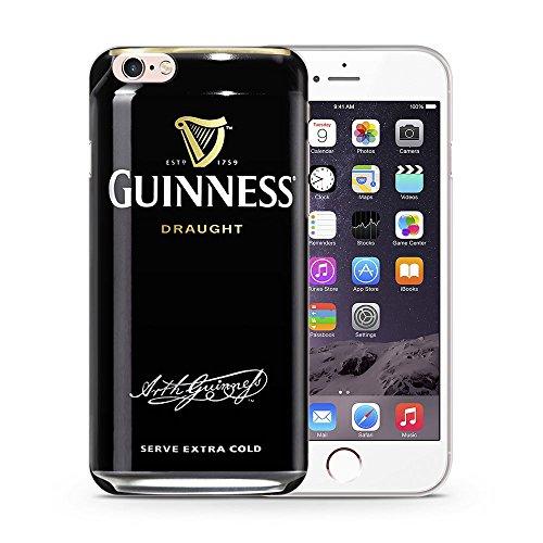 Bier Telefon Hülle/Case Gel TPU Abdeckung für iPhone 5 / 5s / SE mit Display Schutz / EJC Avenue / Stella Guinness