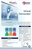 Nanz Pharma Multi Function Non-Contact Forehead Infrared Thermometer with Colour Changing Display