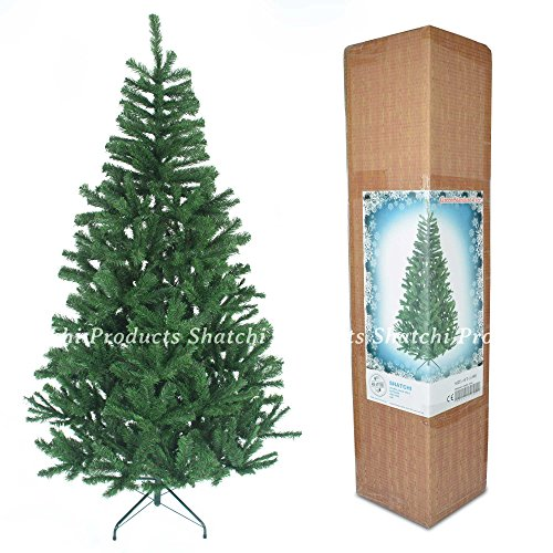 6ft-christmas-tree-green-550-pines-artificial-tree-with-metal-stand