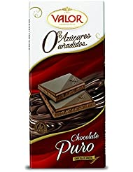 Valor Chocolate Puro, sin Azúcares ...