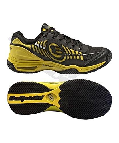 BullPadel–Chaussures Benka noir/jaune