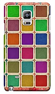 Kasemantra Color Palette Case For Samsung Galaxy Note 4
