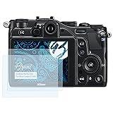 Bruni Schutzfolie für Nikon Coolpix P7000 Folie - 2 x glasklare Displayschutzfolie