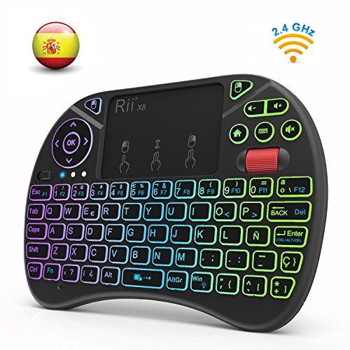 Rii X8 Nueva versión 2018 - Mini teclado inalámbrico