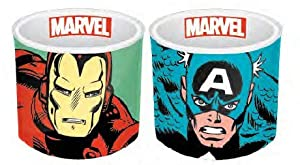 Marvel- Set de 2 hueveras, (ECP2MV01)