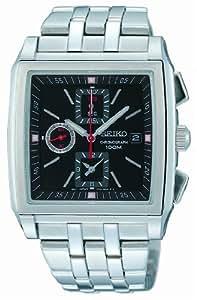 Seiko - SND761P1 - Montre Homme - Quartz Analogique - Chronomètre - Bracelet Acier Inoxydable Argent