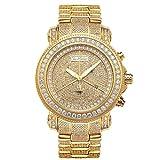 Joe Rodeo Diamond Men's Watch - JUNIOR gold 17.25 ctw