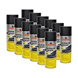 Nigrin 12x 74112 Lackspray Color Schwarz matt 400 ml
