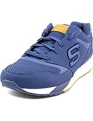 Skechers Hombre OG 90 Cropsey Zapatillas, Azul