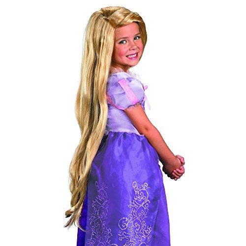Tangled Rapunzel Wig Kostüm -