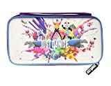 Just Dance 2019 - Hard and shock-proof storage bag for Nintendo Switch - Zipped EVA case - Protective carry case for Nintendo Switch console, games and accessories
