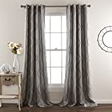 Lush Decor Home Fashion Curtains Grays Review and Comparison