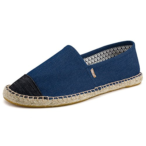 Alexis Leroy Oringin Slip On Plimsolls Men Espadrilles Blue 10 UK /...
