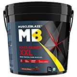 MuscleBlaze Mass Gainer XXL with Complex Carbs and Proteins in 3:1 ratio, 11